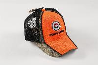 ORANGE BILL CAMO MESH HAT